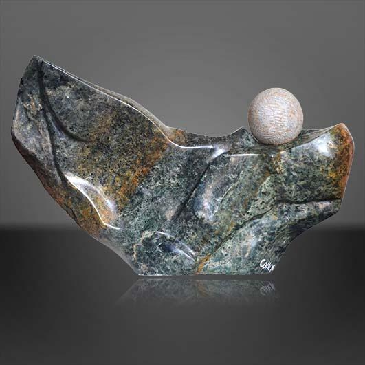 Stone sculptors a hit in UK