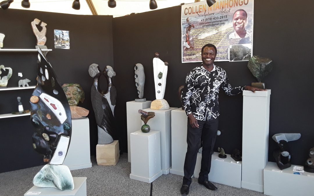 Collen Nyanhongo Returns to the Arizona Fine Art Expo 2020